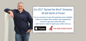 "Our 2017 ""Spread the Word"" Giveaway: $9,400 Worth of Prizes!"