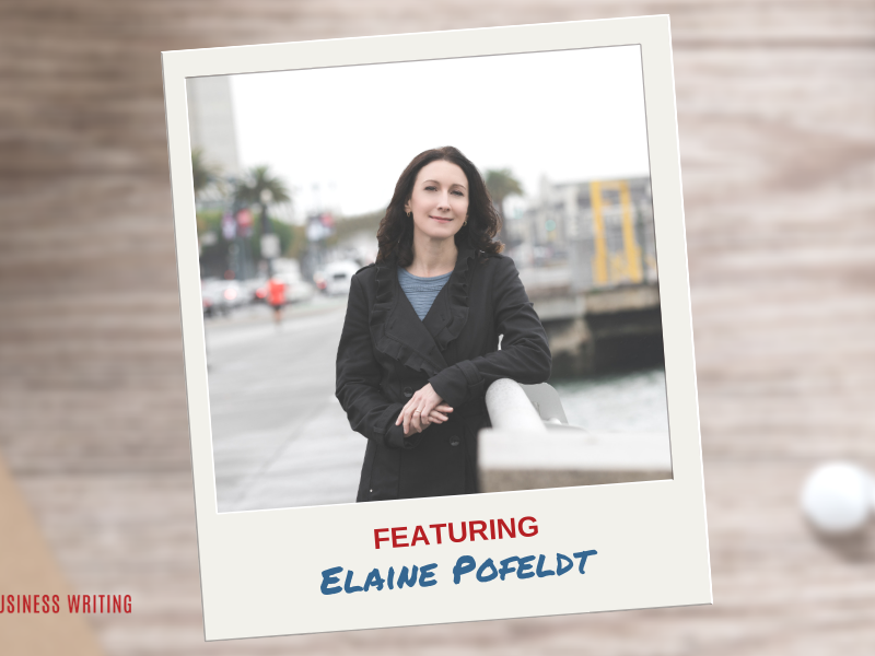 #167: Elaine Pofeldt on Creating a Million-Dollar One-Person Business
